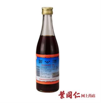 国公酒 简装药酒 328ml 关节痛风湿病