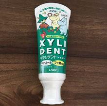 日本狮王儿童牙膏 木糖醇氟素防蛀护齿防龋齿酵素乳齿洁牙素60g