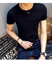 GXG Dream2017夏季新款男装短袖T恤夏装男士圆领韩版修身简约青年